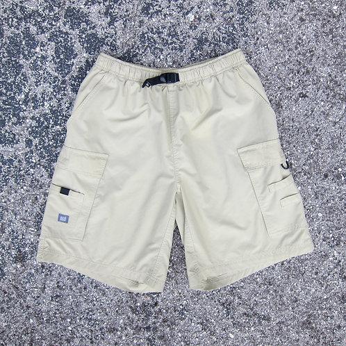 90s Nike Acg Beige Utility Shorts - L