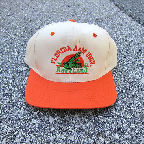 90s Florida A&M Rattlers Snapback Hat
