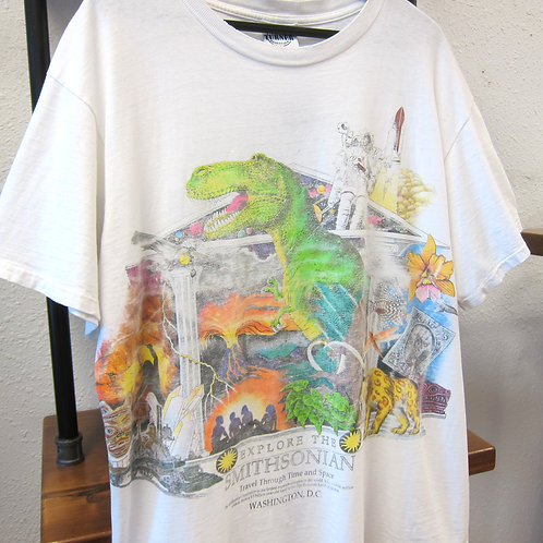 *Worn* 90s Smithsonian Museum Tee - XL