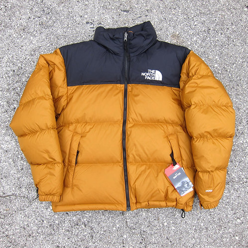 retro '96 The North Face Timber Tan Nuptse Jacket - M