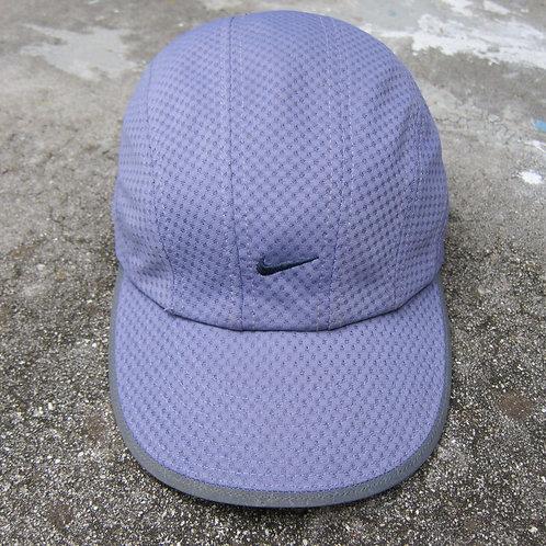 90s Nike Lavender Mesh Tech Hat w/ Reflective Trim