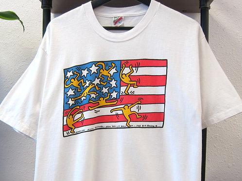 '88 Keith Haring Music Festival Tee - XL
