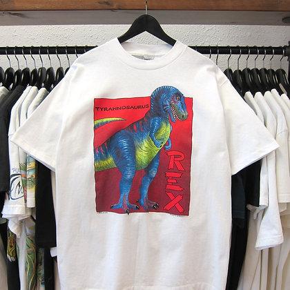 90s T-Rex Dino Art Tee - L/XL