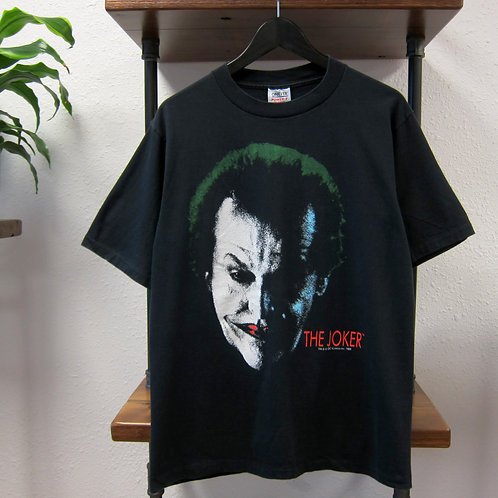 1989 The Joker Black Movie Tee - L