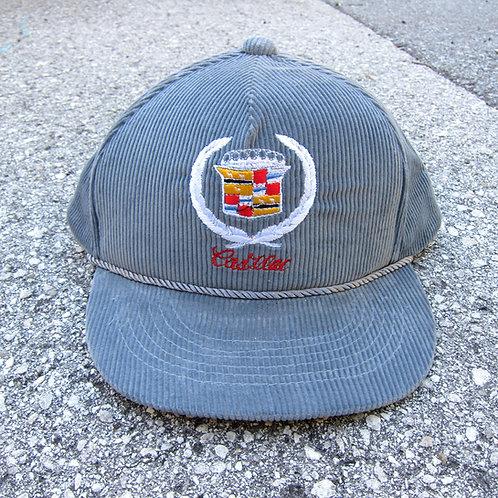 80s Bootleg Cadillac Corduroy Trucker Hat