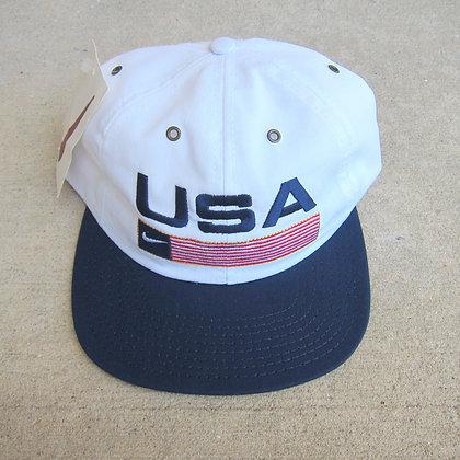 90s Nike USA 6 Panel Hat