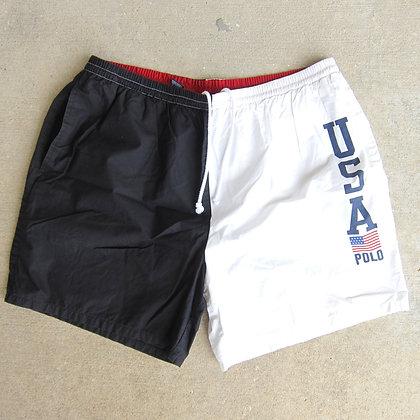 90s Polo Sport USA Shorts - L