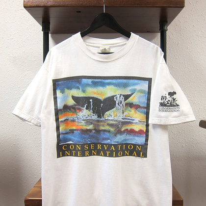 '93 Whale Conservation Tee - L