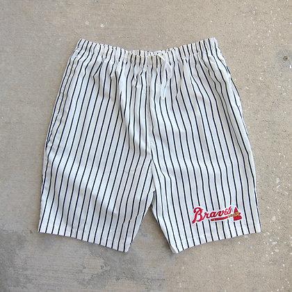 90s Atlanta Braves Chalk Line Baggy Shorts - L/XL