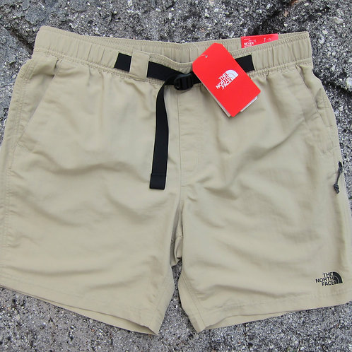 The North Face Twill Beige Tech Shorts - L/XL