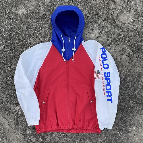 90s Polo Sport Colorblock Sailing Jacket - L