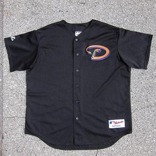 90s Arizona Diamondbacks Black Jersey - L