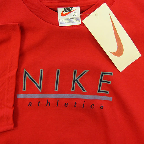 90s Nike Athletics Graphic Tee - L/XL