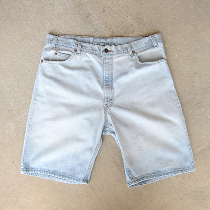 "90s Levi Strauss Orange Tab Denim Shorts - 40"""