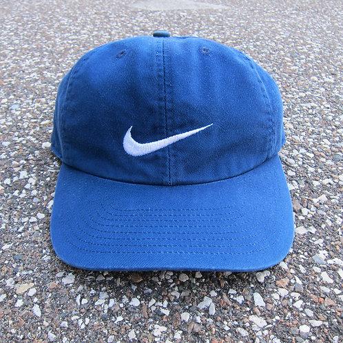 90s Nike Navy Blue 6 Panel Hat