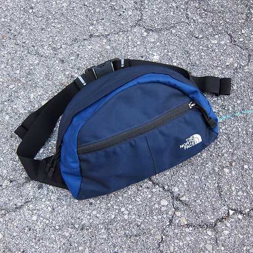 The North Face Navy & Blue Lumbar Bag