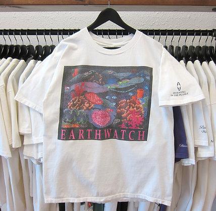 90's Ocean Reefs Earth Watch Tee - L