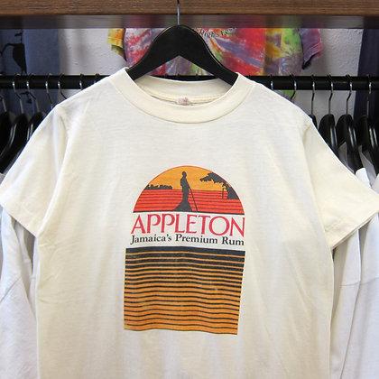 80s Appleton Jamaican Spiced Rum 50/50 Tee - S