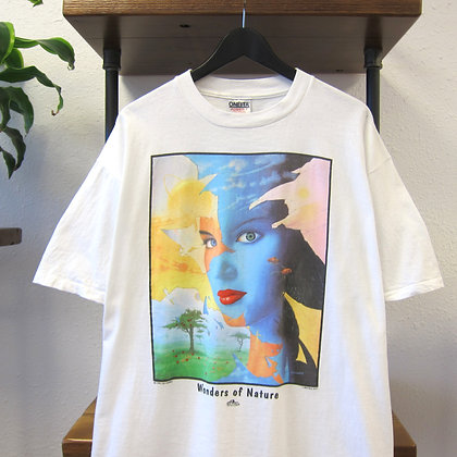 90's Mother Nature Art Tee - XL