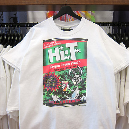 '93 High Thc Punch Weed Tee - L