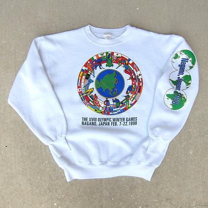 '98 Winter Olympics Crewneck - M
