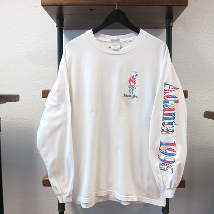 '96 Atlanta Olympics Long Sleeve Tee - L