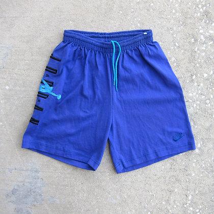 90s Nike Air Jordan Purple & Aqua Cotton Shorts - M
