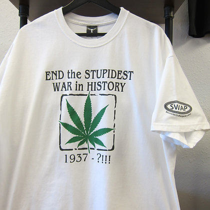2000s End the Stupidest War in History Tee - XL