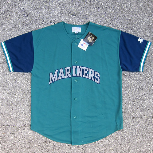 90s Seattle Mariners Starter Jersey - L