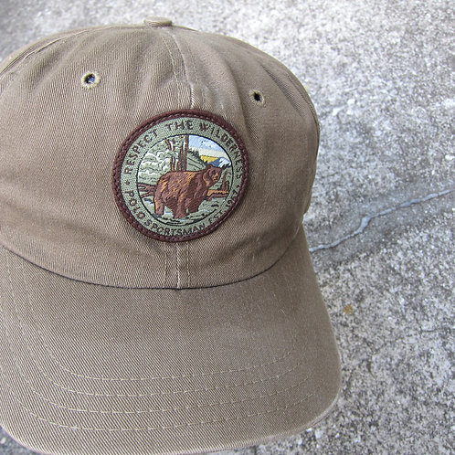 90s Polo Sportsman Respect The Wilderness Hat