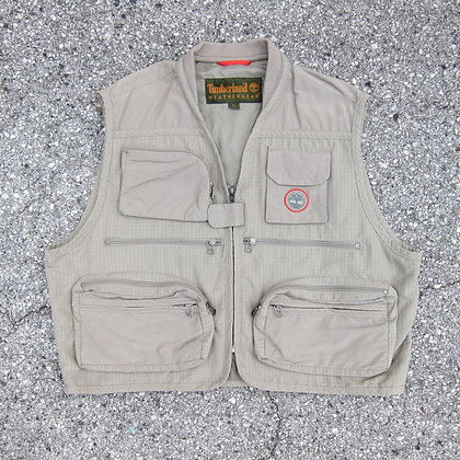 90s Timberland Fly Fishing Vest - L