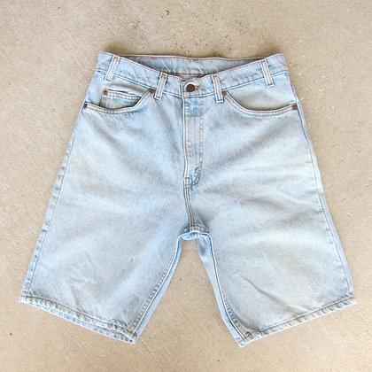 "90s Levi Strauss Orange Tab Denim Shorts - 32"""