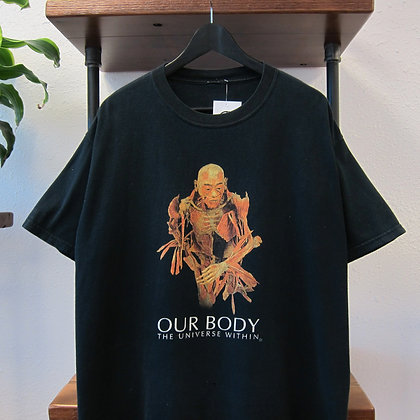 90's Our Body Art Exhibition Tee - XL