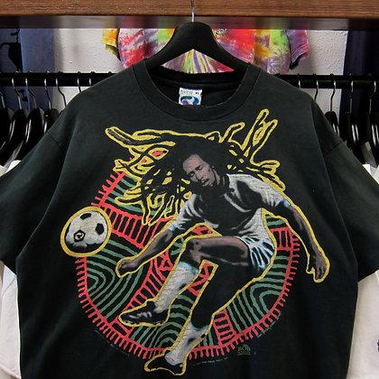 *Worn* '94 Bob Marley Liquid Blue Tee - XL