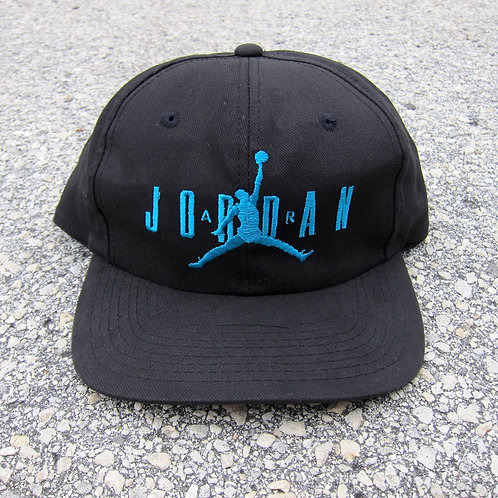 '90 Nike Air Jordan Black & Aqua V Hat