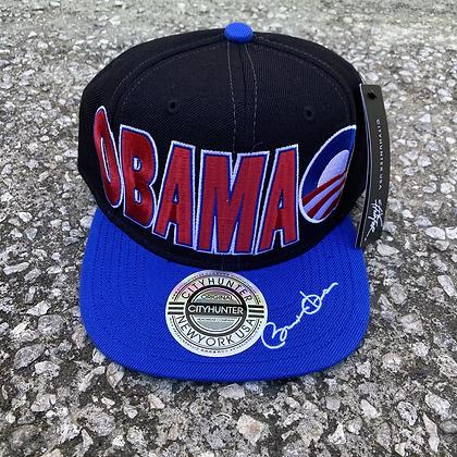 2000s Obama SnapBack (Royal Brim)