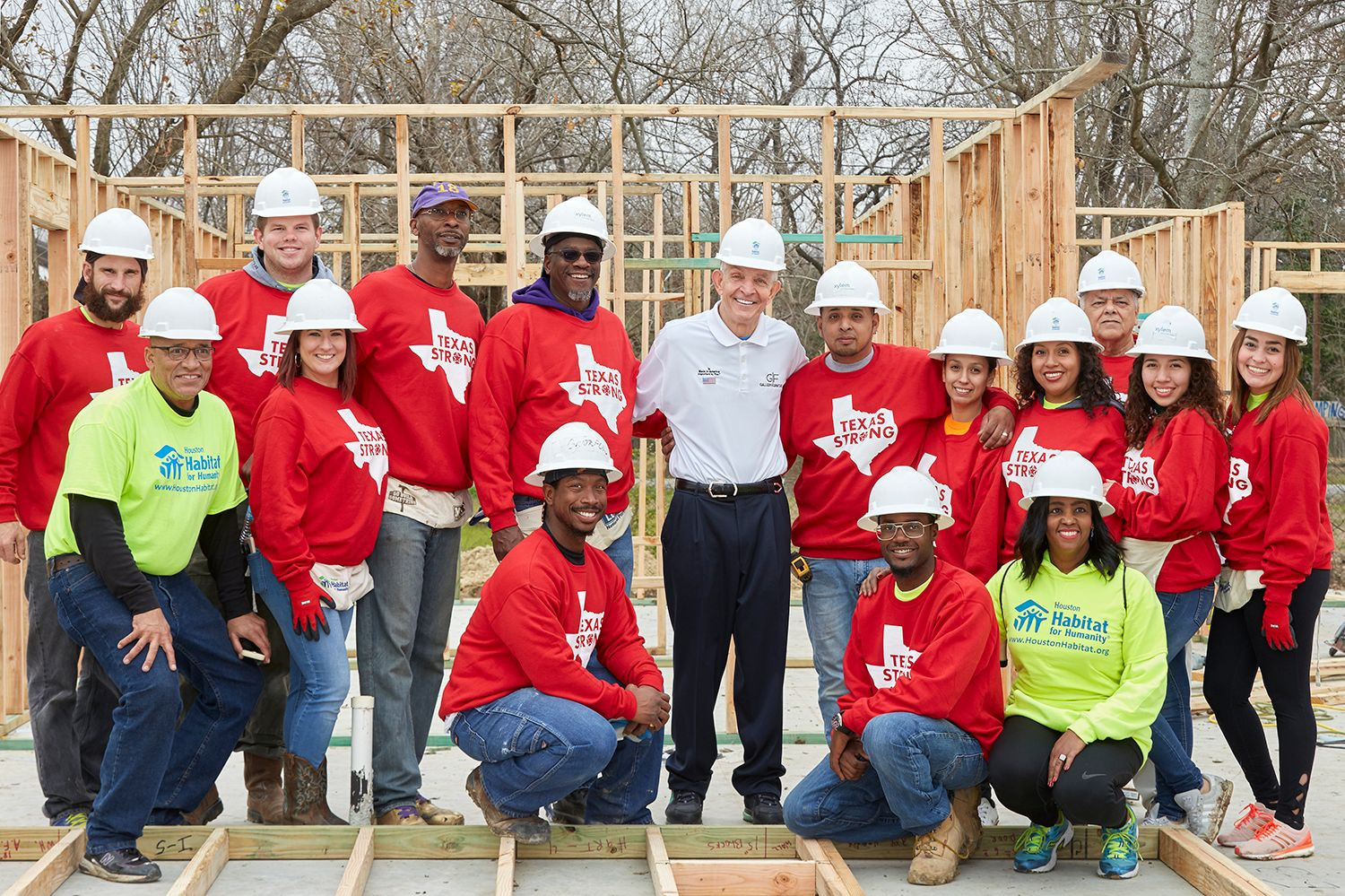 Building homes with Habitat for Humanity