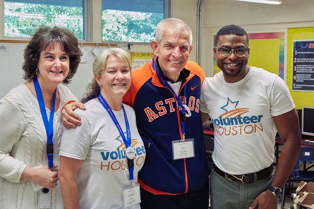 Mattress Mack with Volunteer Houston.