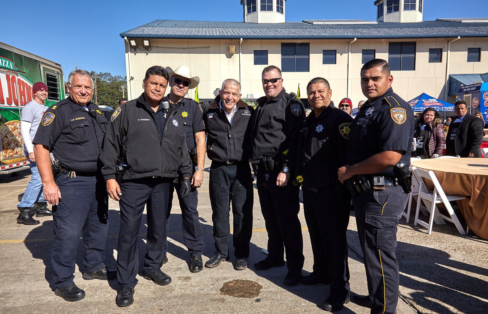 Many thanks to the Harris County Sheriff's Department