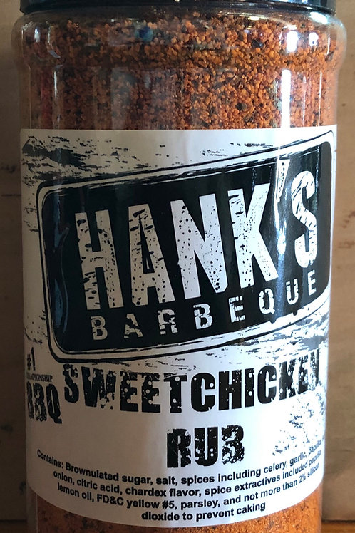 Hank's BBQ Sweet Chicken Rub