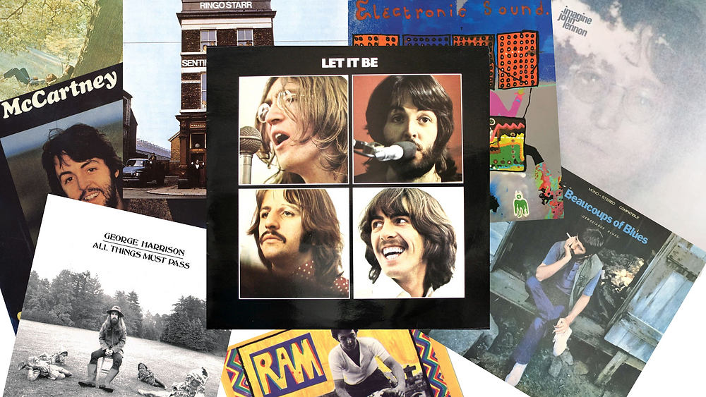 Various Solo Beatles Albums