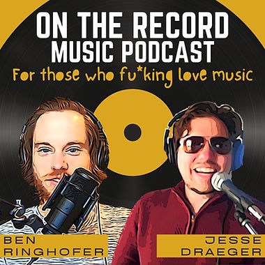 On the Record Music's Podcast Cover Art