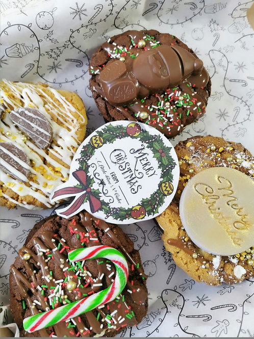 Christmas cookie Sandwiches