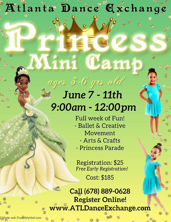 Copy of Tiana Pageant Flyer - Made with