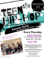 Copy of Copy of Dance Camps Flyer - Made