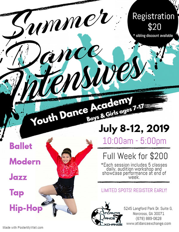 Copy of Dance Camps Flyer - Made with Po