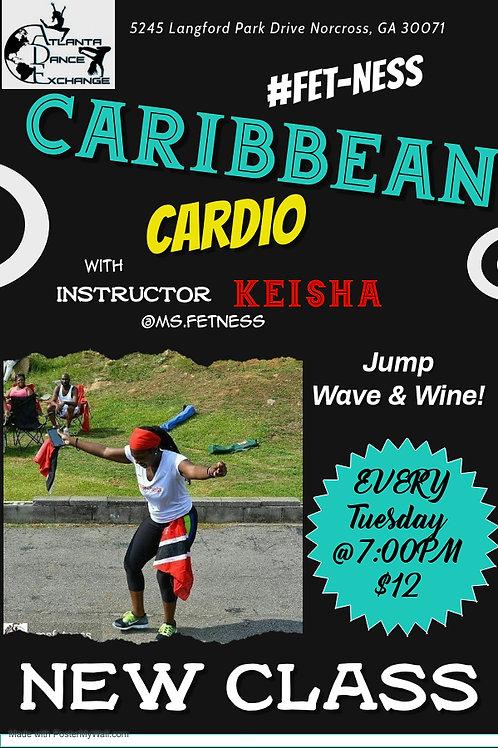 Caribbean Cardio-Tuesdays @7:00pm