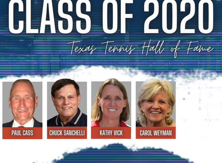 The Texas Tennis Hall of Fame Announces Class of 2020
