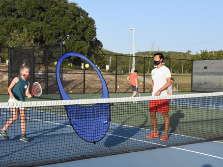 Delta Tennis helps teach middle schoolers the fundamentals of tennis