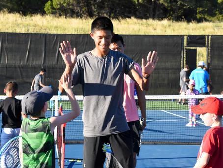 """Delta Tennis teaches kids """"Respect"""" at recent Team Tennis Challenge"""